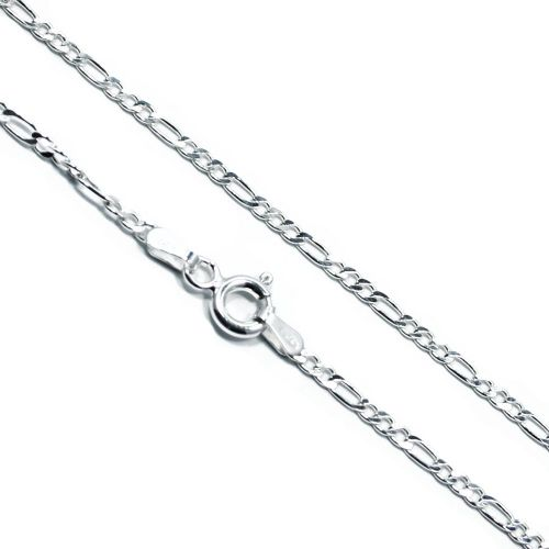 Italian Sterling Silver Figaro Chain 2mm
